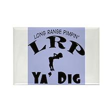 LRP(Long Range Pimpin) -- T-Shirt Rectangle Magnet