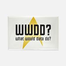Star Trek: WWDD? Rectangle Magnet