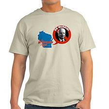 Wisconsin Says No McCain T-Shirt