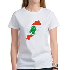 Lebanon Map Tee