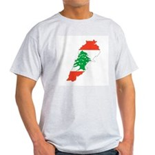 Lebanon Map T-Shirt