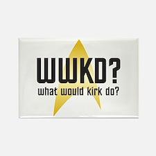 Star Trek: WWKD? Rectangle Magnet