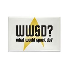 Star Trek: WWSD? Rectangle Magnet