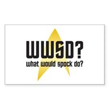 Star Trek: WWSD? Decal