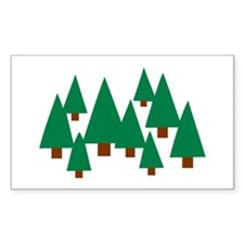 Forest trees Decal