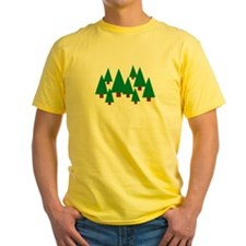 Forest trees T