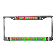 Rifqa Bary License Plate Frame