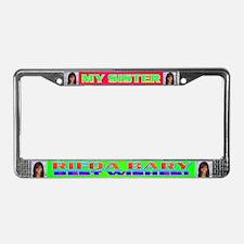 Rifqa Bary License Plate Frame
