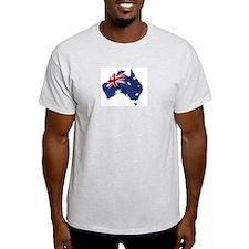 Australian Map T-Shirt