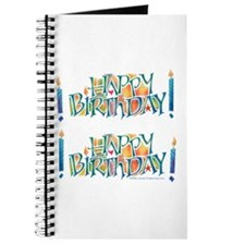 Happy Birthday Journal or Memory Book