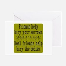 REAL FRIENDS/FRIENDS Greeting Card