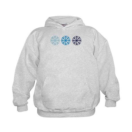 Snowflakes Kids Hoodie