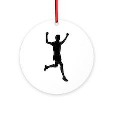 Runner running Ornament (Round)