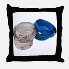 Roll of Tickets Throw Pillow