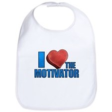 I Heart the Motivator Bib
