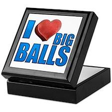 I Heart Big Balls Keepsake Box