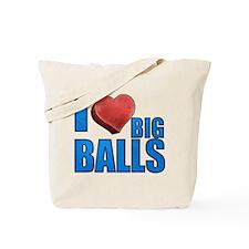 I Heart Big Balls Tote Bag