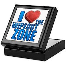 I Heart the Wipeout Zone Keepsake Box