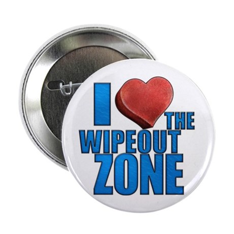 """I Heart the Wipeout Zone 2.25"""" Button"""