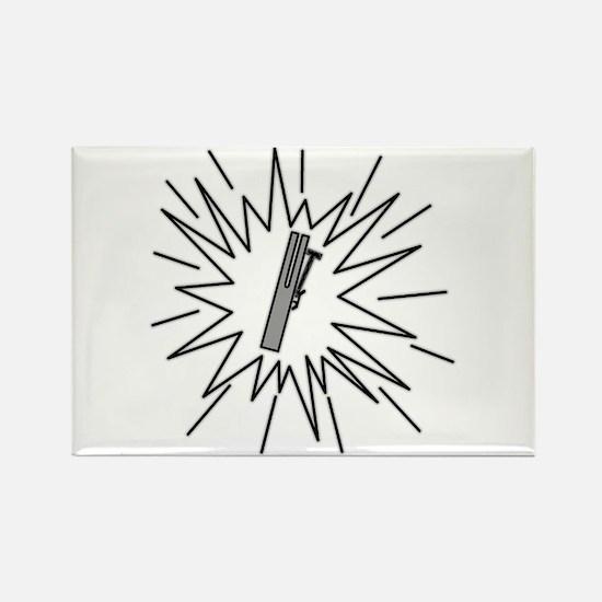 Unique Chimes Rectangle Magnet