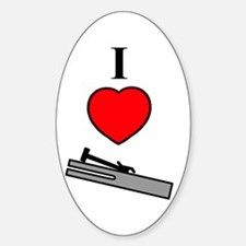 I Heart Chimes- Vertical Decal