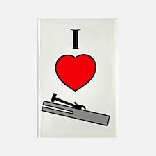 I Heart Chimes- Vertical Rectangle Magnet (10 pack