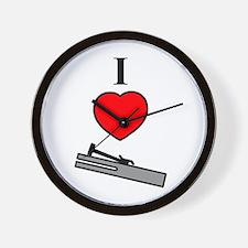 I Heart Chimes- Vertical Wall Clock