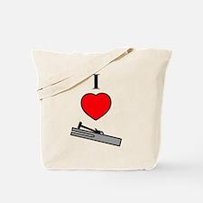 I Heart Chimes- Vertical Tote Bag