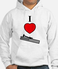 I Heart Chimes- Vertical Jumper Hoody
