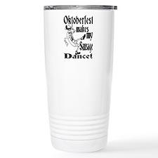 Cute Oktoberfest Travel Mug
