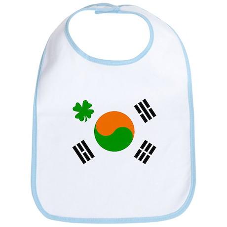 Irish/Korean Korean/Irish Bib
