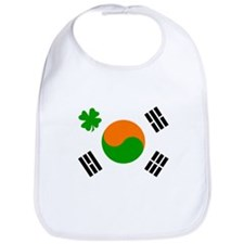 Irish/Korean Korean/Irish Bib