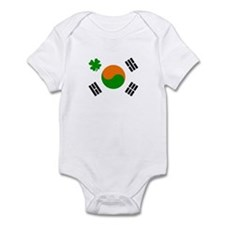 Irish/Korean Korean/Irish Infant Bodysuit