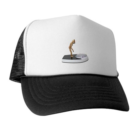 Viewing Bathroom Scale Trucker Hat
