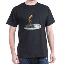 Viewing Bathroom Scale T-Shirt