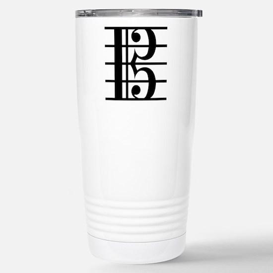Alto Clef Stainless Steel Travel Mug