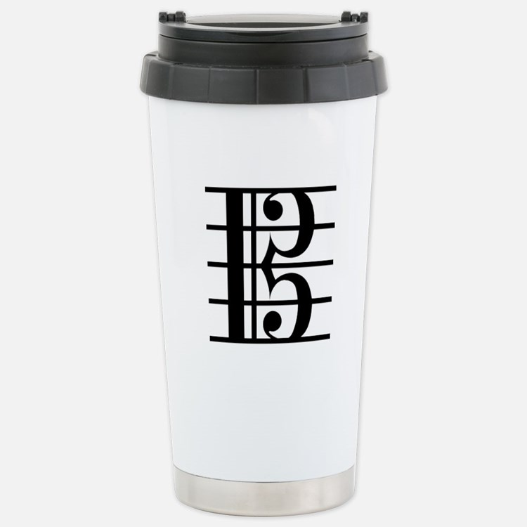 Alto Clef Stainless Steel Travel Mug