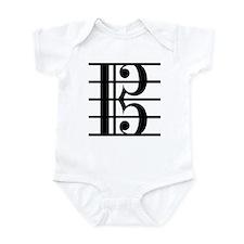 Alto Clef Infant Bodysuit