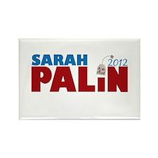 Sarah Palin 2012 Tea Party Rectangle Magnet