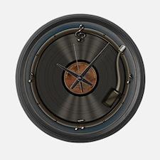 Karaoke King LP Record Large Wall Clock