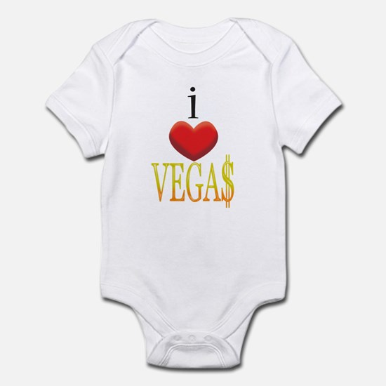 I Love Vegas Infant Bodysuit