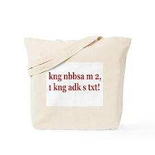 Cute Tagalog Tote Bag