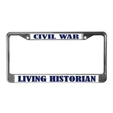 Civil War Living Historian License Plate Frame