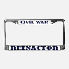 Civil War Reenactor License Plate Frame