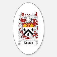 Lupton Sticker (Oval)