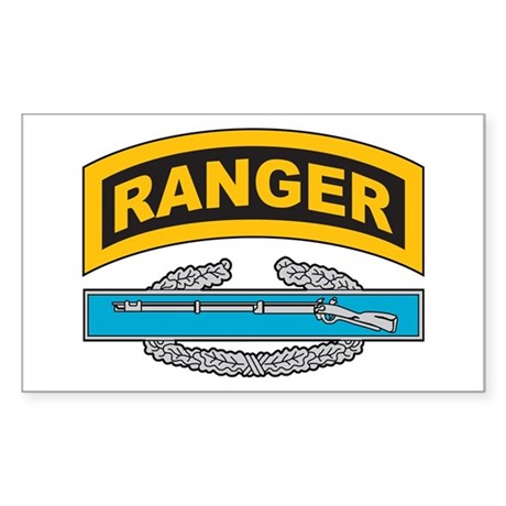 CIB with Ranger Tab Sticker (Rectangle)
