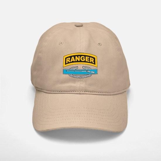 CIB with Ranger Tab Baseball Baseball Cap