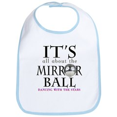 DWTS Mirror Ball Bib