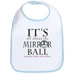 DWTS Mirror Ball Bib