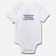 I'd Rather be Collecting Comi Infant Bodysuit